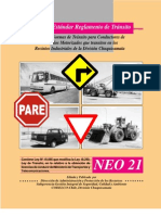 Normas de Transito Para Conductores de Vehiculos Motorizados,Que Transiten en Los Recintos Industriales de Division Chuquicamata