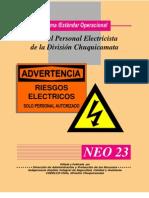 Riesgos Electricos Personal Electricista Division Chuquicamata