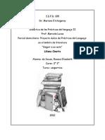 Proyecto áulico- seguir a un autor - primer ciclo