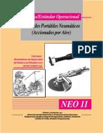 norma -estandar operacional uso de Esmeriles Portatiles Neumaticos (Accionados Por Aire)