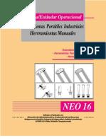 Uso de Herramientas Portatiles Industriales-herramientas Manuales