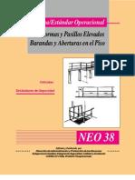 norma -estandar operacional uso de Plataformas y Pasillos Elevados-barandas y Aberturas en El Piso