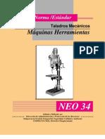 norma- estandar operacional uso de Taladros Mecanicos-maquinas Herramientas