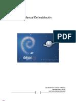 Manual de Instalacion Debian