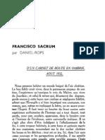 Esprit - 8 - 6 - Daniel-Rops - Francisco Sacrum