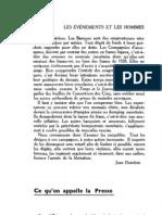 Esprit - 8 - 19 - Ce Qu'on Appelle La Presse