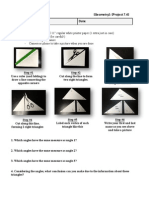 Geometry Project 7.4