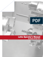 Lathe Operators Manual