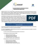 Guia Para Adjudicatarios Convocatoria Abierta de Becas 2012
