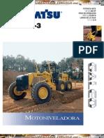 Catalogo Motoniveladora Gd675 3 Komatsu