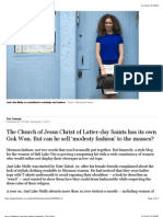 Less is Mormon_ the man selling 'modesty'   The Times