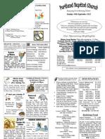 PBC Bulletin - September 30 2012