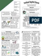 PBC Bulletin - October 7 2012