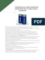 Produzcalosantioxidantesnecesariosparaeliminarlosradicaleslibres