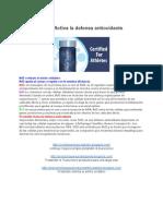 Protandim Activa La Defensa Antioxidante