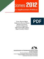 Elecciones 2012 México presidenciales y legislativas federales y locales PDF