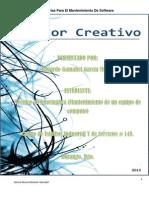 Utilerias Para El Mantenimiento Del Software.