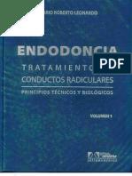 Endodoncia - Tratamiento de Conductos Radiculares - Volumen