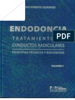 Endodoncia - Tratamiento de Conductos Radiculares - Volumen