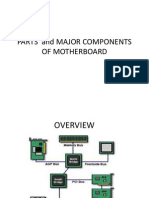 Parts and Major Components of Motherboard