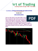 Newsletter 4th May 2011