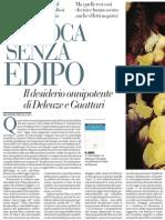 L'Anti-edipo Di Deleuze e Guattari - La Repubblica (17.11.2012)