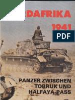 Nordafrika 1941 - Panzer Zwischen Tobruk Und Halfaya-Pass
