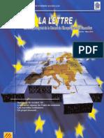 La lettre trimestrielle / Janvier - Mars 2010