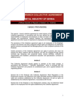 Poseban Kolektivni Ugovor Za Metalsku Industriju Sa Tabelama Eng