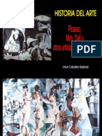 Picasso, Miró y Dalí