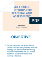Soft Skills Methods of Teaching and Assessment