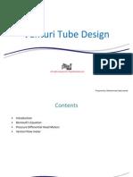 Venturi Tube Design