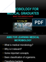 Medical Microbiology for Graduates