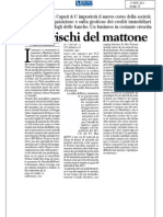 Piano riassetto Prelios Pirelli -  Massimo Caputi Feidos 11