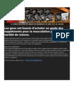 Guide Des Supplements