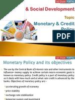 21(B) Monetory Policy