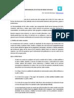 Borrador Manual de Estilo en Redes Sociales - Hernan Restrepo