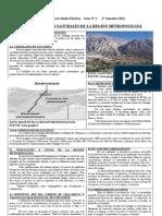 4° Medio Electivo Guía N° 2 Geo RM