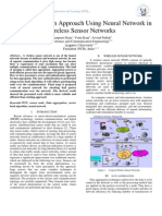 Data Aggregation Approach Using Neural Network in Wireless Sensor Networks