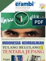 Serambi Newspaper_Indonesia Kembalikan Tulang Belulang Tentara Jepang