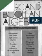 Logic and Boolean Algebra