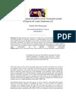 Novela e imaginación pública en la Venezuela actual...Paulette Silva Beauregard