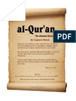 Quran the Linguistic Miracle LinguisticMiracle