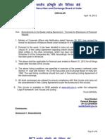 791154 966228 Sebi Circular 16 April 2012 Amendment to Clause 41 Format