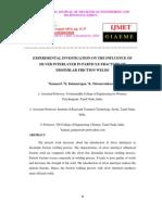 Experimental Investigation 3