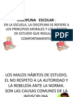 88807576 Disciplina Escolar