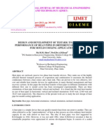 Design and Development of Test-rig to Evaluate Performance of Heat Pipes-2