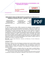 Implementation of Preventive Maintenance Program in Thermal Power Station a Review and Case Study-2