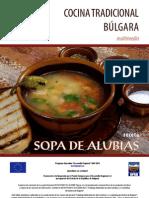 Receta Bulgara - Sopa de Alubias