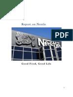 Nestle Final Project